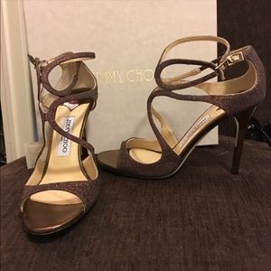 Jimmy Choo Lang strappy high heel 9